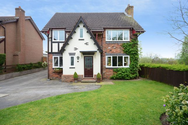 Thumbnail Detached house for sale in Langton Court, Werrington, Stoke-On-Trent