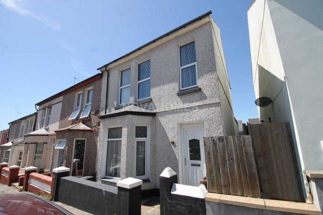 Thumbnail End terrace house for sale in Second Avenue, Camels Head, Plymouth
