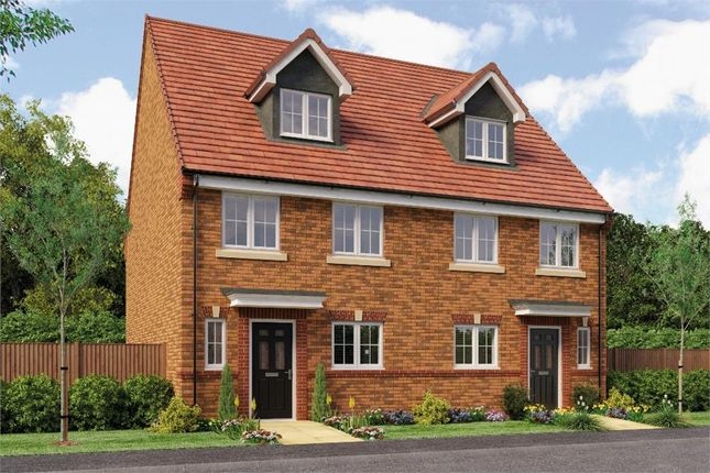 """Thumbnail Town house for sale in """"The Auden"""" at Backworth, Newcastle Upon Tyne"""