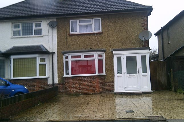 Thumbnail Semi-detached house to rent in Killowen Avenue, Northolt