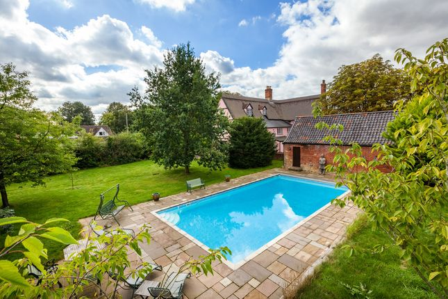 Thumbnail Detached house for sale in Shop Hill, Wickhambrook, Newmarket