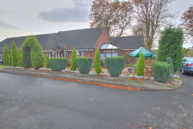 Thumbnail Bungalow for sale in Spinney Drive, Botcheston, Leicester