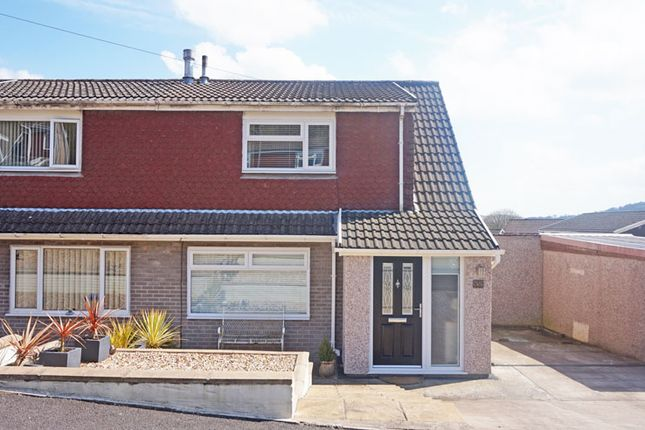 Thumbnail Semi-detached house for sale in Heathlands, Ystrad Mynach