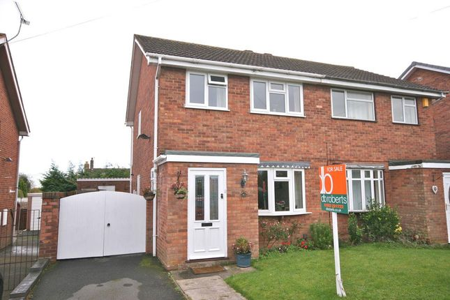 Thumbnail Semi-detached house for sale in Bridle Terrace, Madeley, Telford