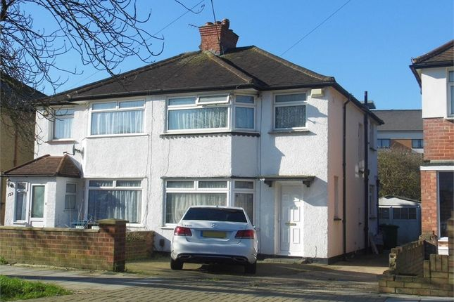 Thumbnail Semi-detached house to rent in Twyford Road, Harrow, Greater London