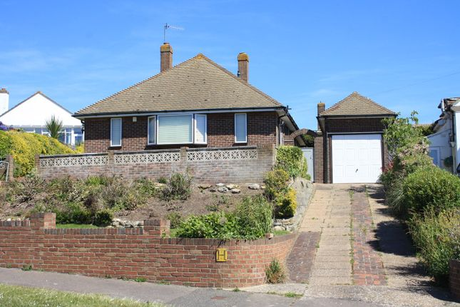 Thumbnail Detached bungalow for sale in Glassenbury Drive, Bexhill-On-Sea