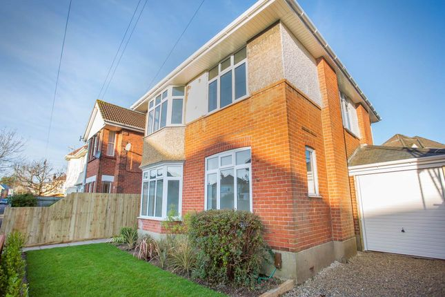 Thumbnail Detached house for sale in Truscott Avenue, Winton, Bournemouth
