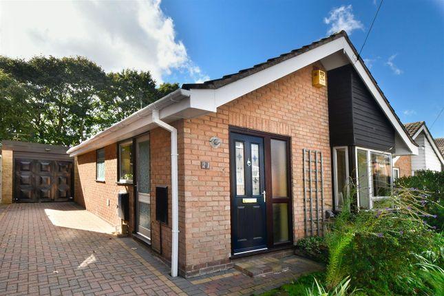 Thumbnail Detached bungalow for sale in Steeple Close, Oakwood, Derby