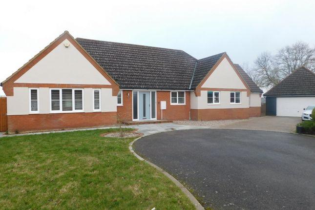 Thumbnail Detached bungalow for sale in Laburnham Drive, Battisford, Stowmarket