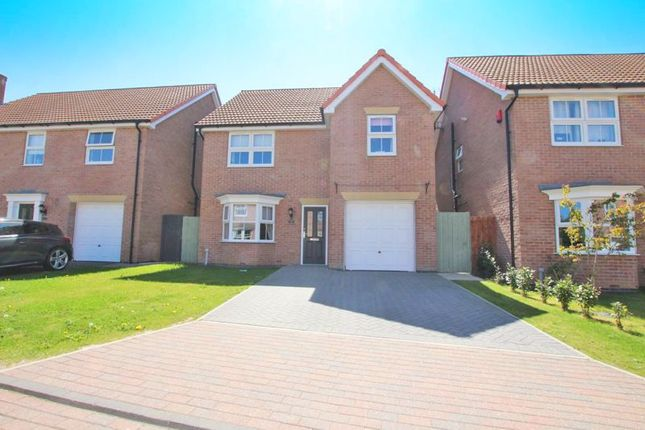 Thumbnail Detached house for sale in Churchside Close, Station Road, Habrough, Immingham