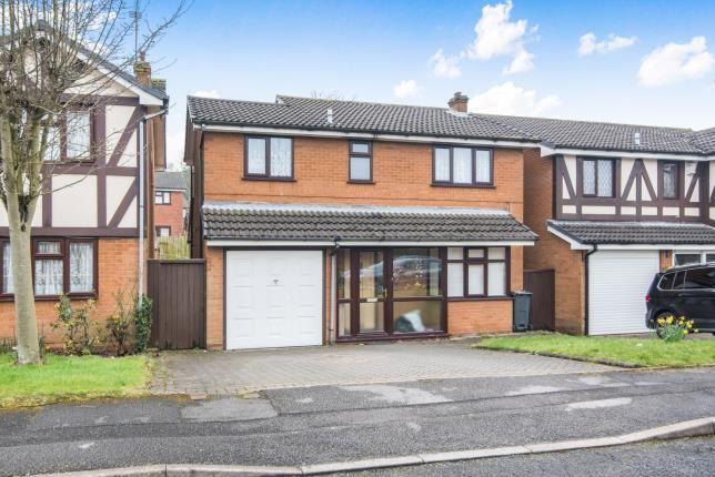 Thumbnail Detached house for sale in Statham Drive, Birmingham, West Midlands