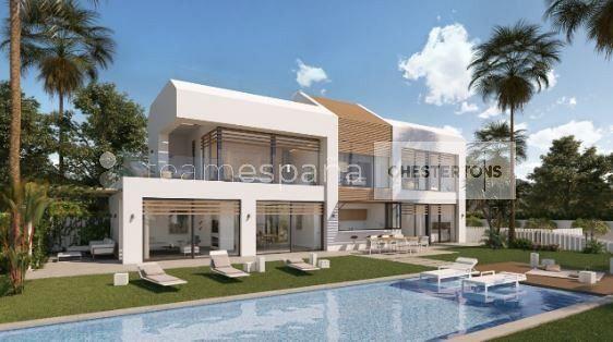 Thumbnail Villa for sale in 5 Bedroom Villa, Estepona, Andalucia, Spain