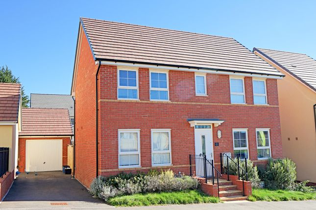 Thumbnail Detached house for sale in Greystone Walk, Cullompton