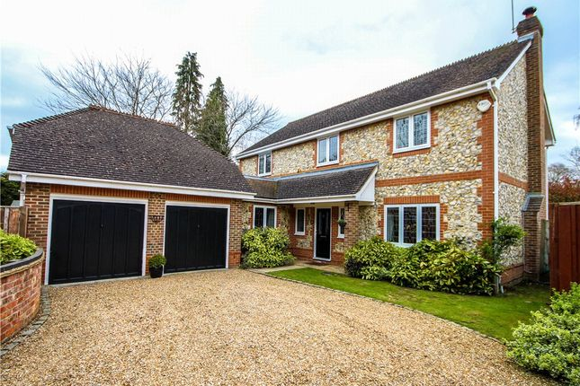 Thumbnail Detached house for sale in Moorlands Close, Fleet