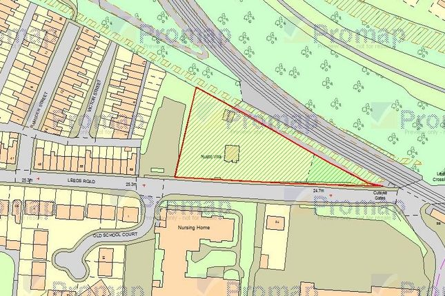 Thumbnail Land for sale in Leeds Road, Cutsyke, Castleford
