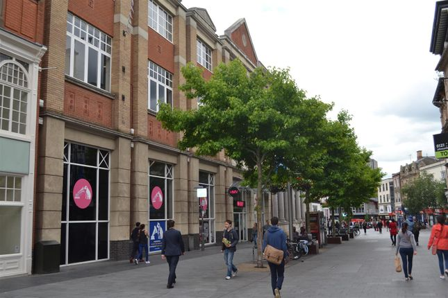 Thumbnail Commercial property for sale in Shires Walk, High Street, Leicester