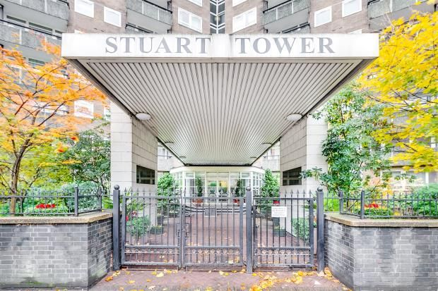 Exterior of Stuart Tower, 105 Maida Vale, London W9