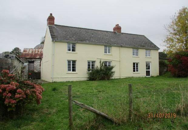 Thumbnail Farmhouse for sale in Llangoedmor, Cardigan, Ceredigion