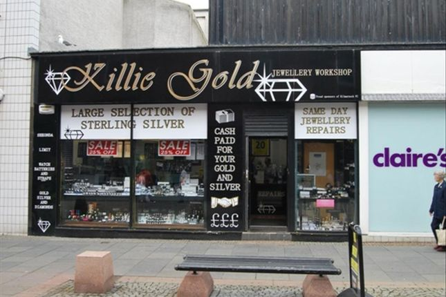 Thumbnail Commercial property for sale in King Street, Kilmarnock