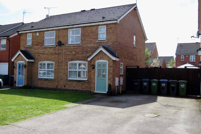 Thumbnail Semi-detached house for sale in William Cree Close, Wolston, Coventry
