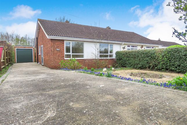 Thumbnail Semi-detached bungalow to rent in Holme Court Avenue, Biggleswade
