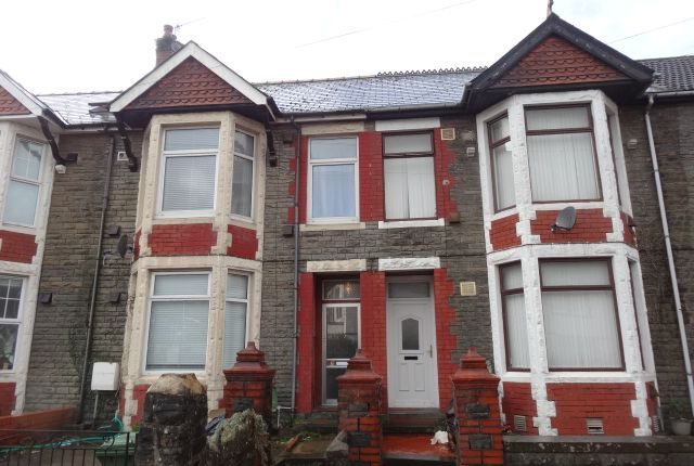Thumbnail Terraced house to rent in Treforest, Pontypridd