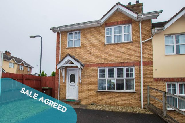 Thumbnail End terrace house for sale in 18 Church Meadow, Derry / Londonderry