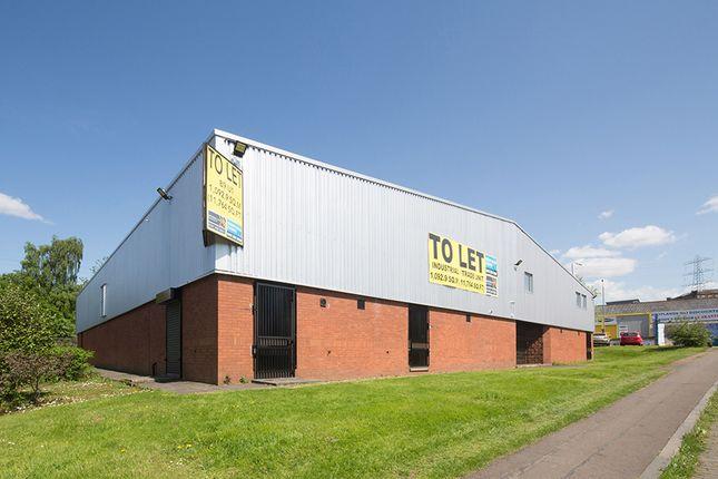 Thumbnail Light industrial to let in Oakbank Trading Estate, Block 9, Unit 1, Glasgow