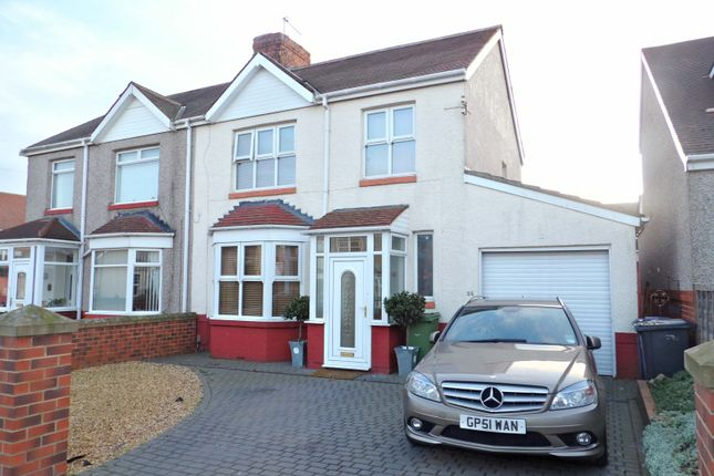 3 bed semi-detached house for sale in Dulverton Avenue, South Shields