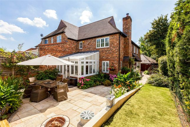 Thumbnail End terrace house for sale in Aquarius Close, Crondall, Farnham