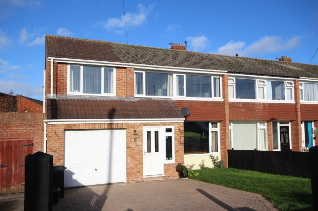 Thumbnail End terrace house for sale in Crosswell Close, North Petherton, Bridgwater