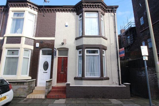 Thumbnail End terrace house to rent in St David's Road, Anfield, Liverpool