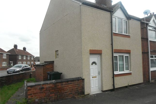 Thumbnail End terrace house to rent in Queen Marys Road, New Rossington, Doncaster