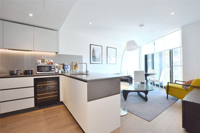 Thumbnail Flat for sale in Riverlight Four, London