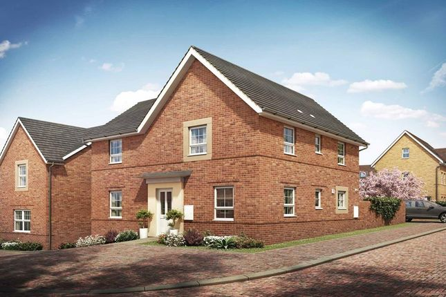 "Thumbnail Detached house for sale in ""Alderney"" at Briggington, Leighton Buzzard"