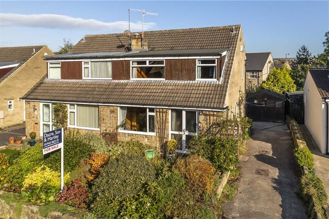 Thumbnail Semi-detached house for sale in Farr Royd, Burley In Wharfedale, Ilkley, West Yorkshire
