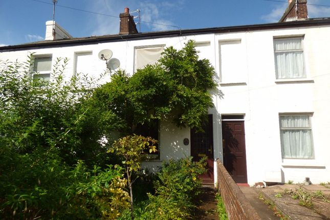 Thumbnail Terraced house for sale in Well Street, Exeter