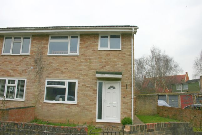 Thumbnail Semi-detached house to rent in Orchard Park Close, Hungerford