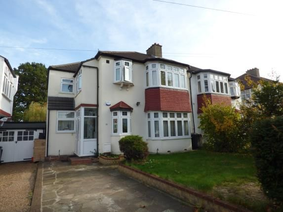 Thumbnail Semi-detached house for sale in Spring Park Avenue, Shirley, Croydon, Surrey