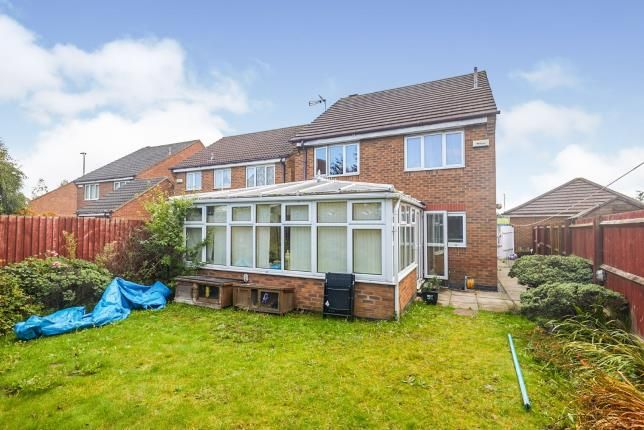 Rear Views of Murby Way, Thorpe Astley, Leicester, Leicestershire LE3
