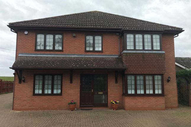 Thumbnail Detached house for sale in Gipsy Lane, Irchester, Wellingborough