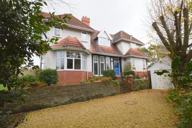 Thumbnail Detached house for sale in Tavistock Road, Sketty, Swansea, Abertawe