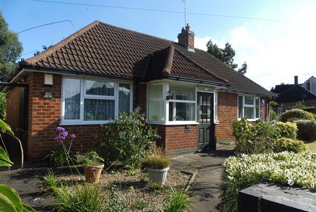 Thumbnail Bungalow to rent in Barbara Avenue, Kirby Muxloe, Leicester