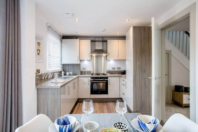 """Thumbnail 3 bed terraced house for sale in """"Alexander Mid"""" at Townhead, Auchterarder"""