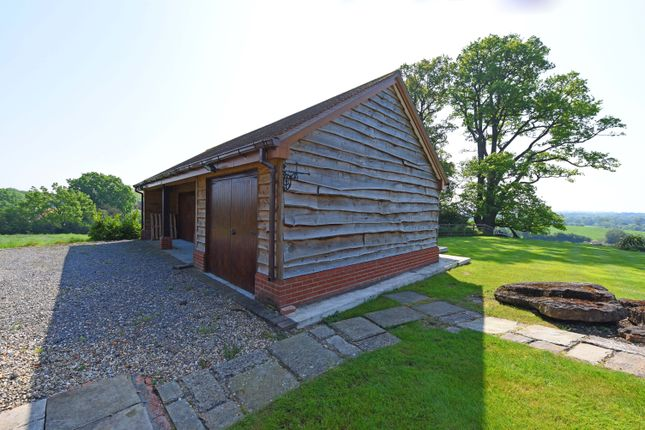 Thumbnail Detached bungalow to rent in Barkham Road, Barkham, Wokingham
