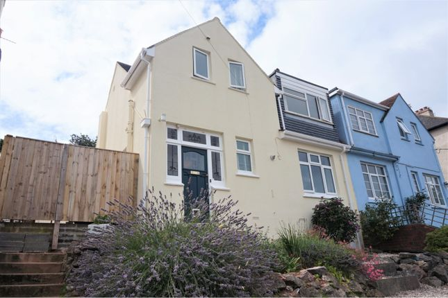 Thumbnail Semi-detached house for sale in Blatchcombe Road, Paignton