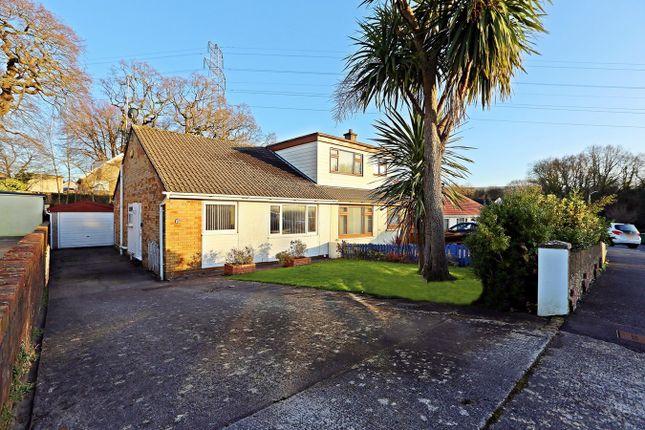 Thumbnail Semi-detached bungalow for sale in Underhill Drive, Tonteg, Pontypridd