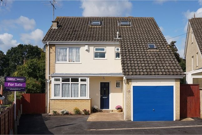 Thumbnail Detached house for sale in Hillside Way, Northampton