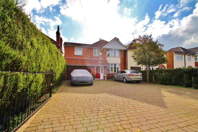 Thumbnail Detached house for sale in Melton Road, Queniborough, Leicestershire