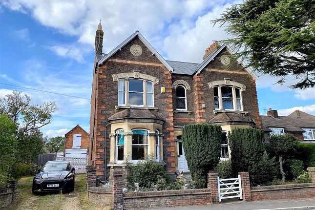 Thumbnail Detached house for sale in Wing Road, Leighton Buzzard